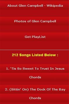All Songs of Glen Campbell screenshot 2