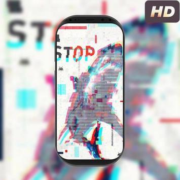 Glitch live wallpapers screenshot 1