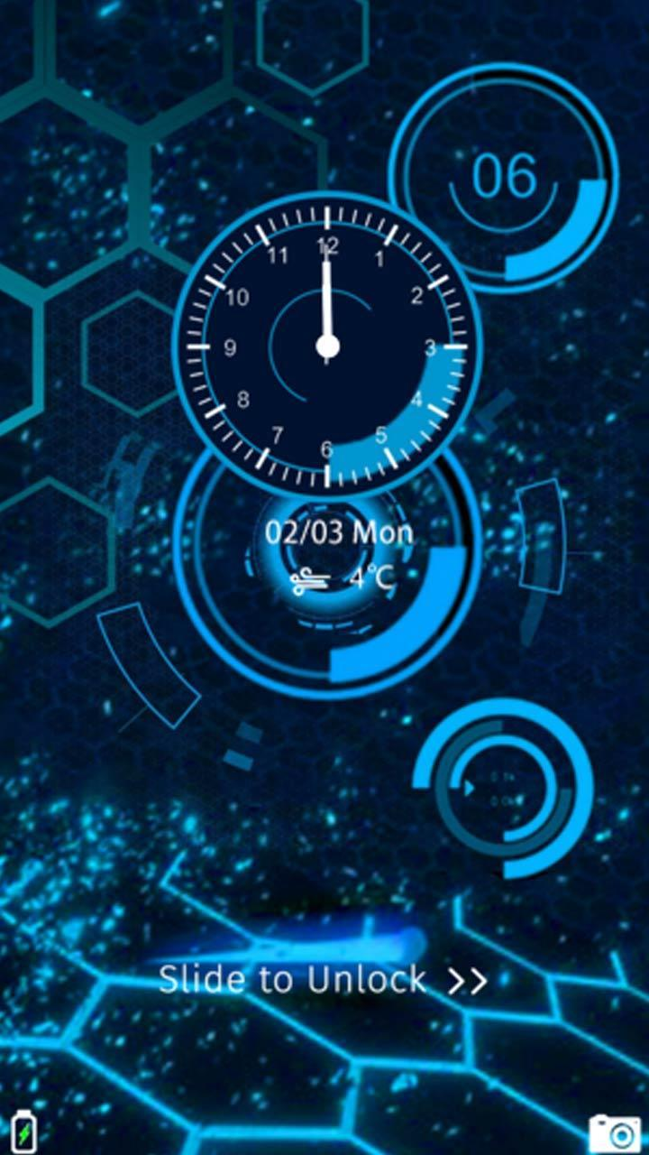 Cool Science Technology Theme For Android APK Download