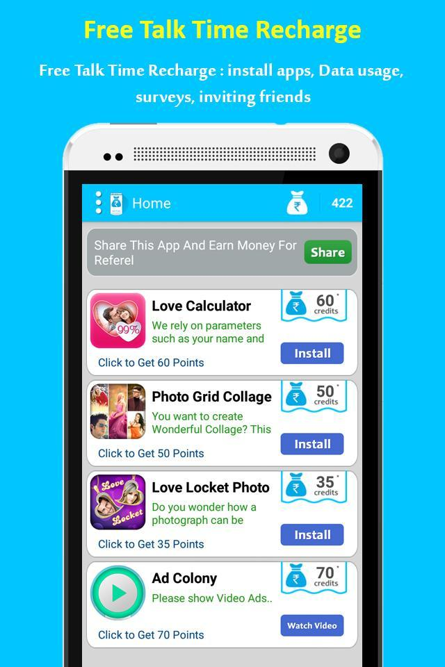 My Free Talktime Recharge For Android Apk Download