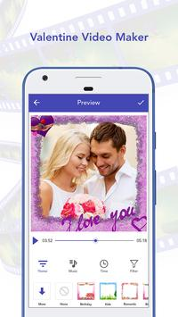 Valentine Video Maker poster