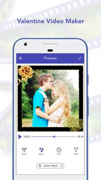 Valentine Video Maker apk screenshot