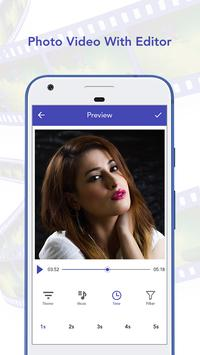 Photo Video With Editor apk screenshot