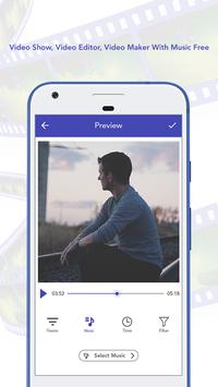 Video Show Video Editor Video Maker With Music Fre apk screenshot