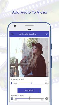 Add Audio To Video apk screenshot