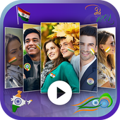 15 August Video Maker With Song icon