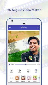 15 August Video Maker With Song apk screenshot