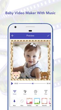 Baby Video Maker With Music poster
