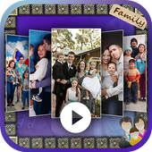 Family Photo To Video Maker With Song icon