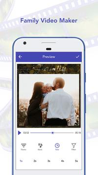 Family Photo To Video Maker With Song apk screenshot