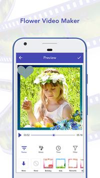 Flower Video Maker with Music poster