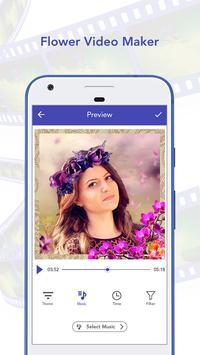 Flower Video Maker with Music apk screenshot