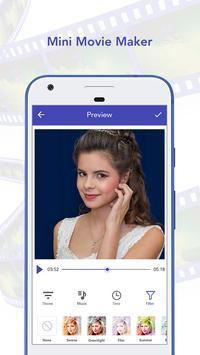 Mini Movie Maker Image To Video apk screenshot