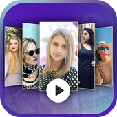 Photo Slideshow with Song icon