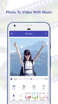 Photo to Video With Music poster