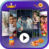 Raksha Bandhan Video Maker with Song icon