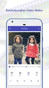 Raksha Bandhan Video Maker with Song apk screenshot
