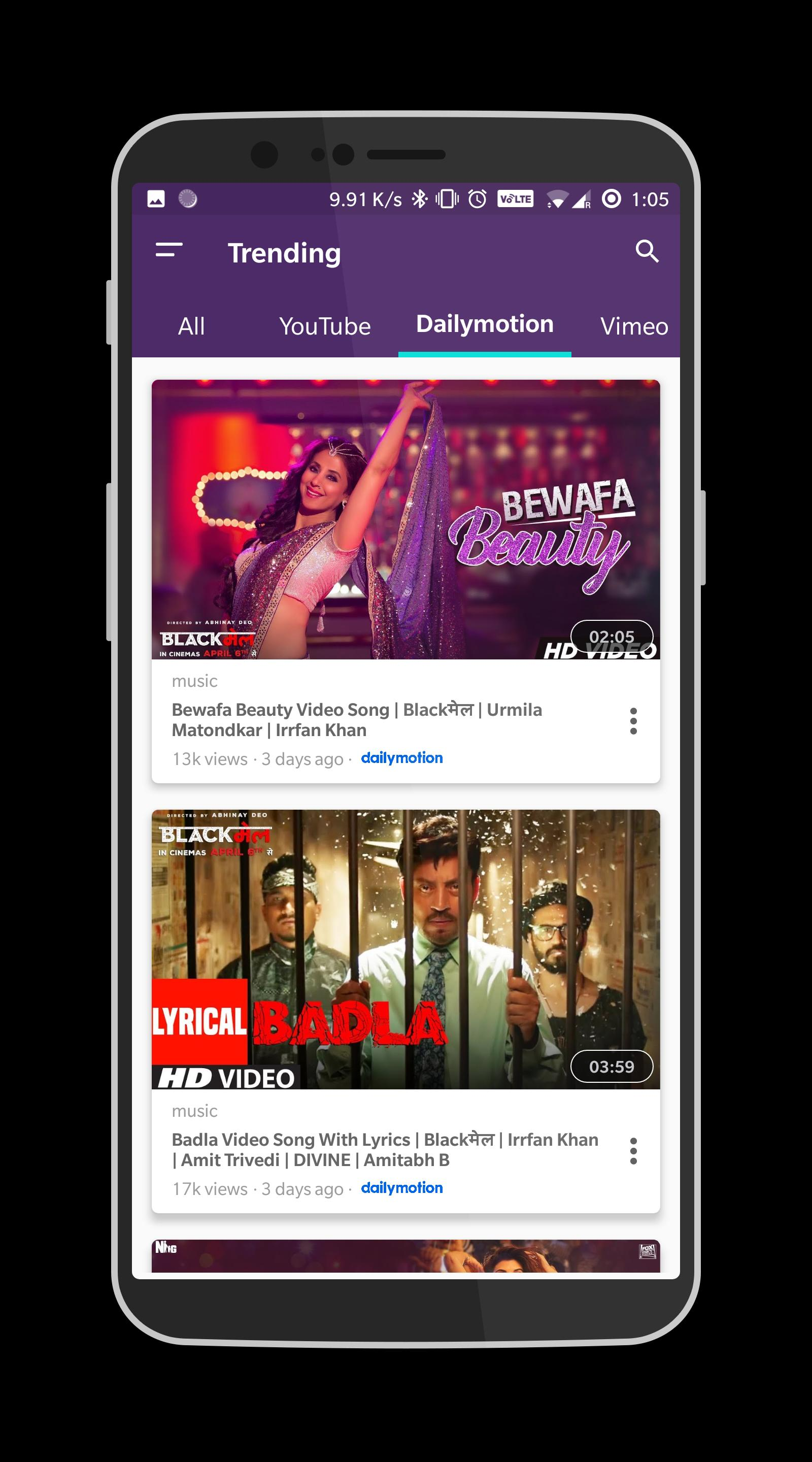 Invent Video - The Video Meta Search & Player App for