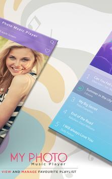 My Photo On Music Player : MP3 Player screenshot 1