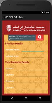 UCQ GPA Calculator poster