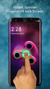 Fidget Spinner 3D Lock Screen screenshot 1