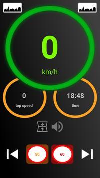 Speedometer gps poster