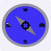 GPS With City Guide icon
