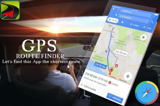 GPS Route Finder Maps Navigation & Direction screenshot 1