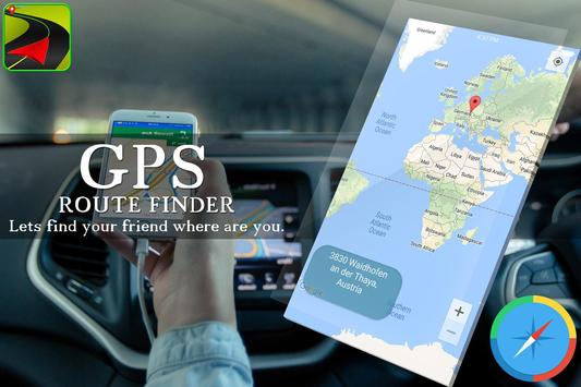 GPS Route Finder Maps Navigation & Direction screenshot 2
