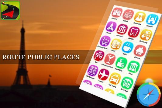GPS Route Finder Maps Navigation & Direction screenshot 3
