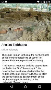 Ancient Eleftherna apk screenshot