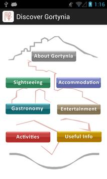 Discover Gortynia (english) poster