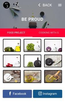 Five olive oil apk screenshot