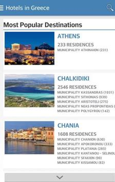 Hotels in Greece poster