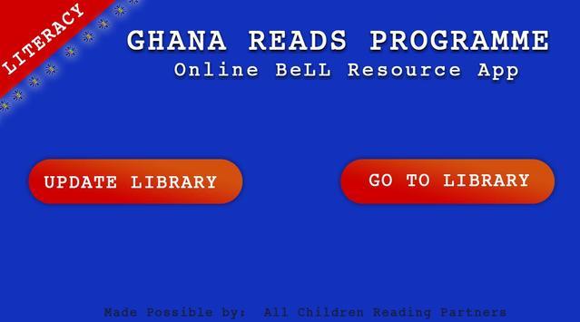 GR-Online BeLL App - Literacy poster
