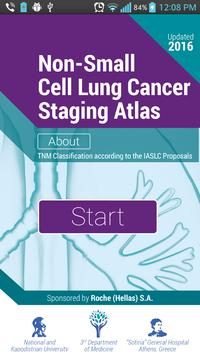 TNM Lung Staging poster