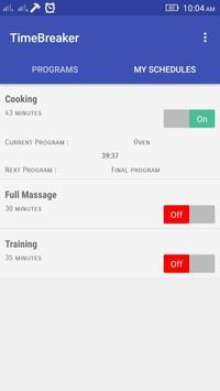 TimeBreaker - Pros CountDown apk screenshot
