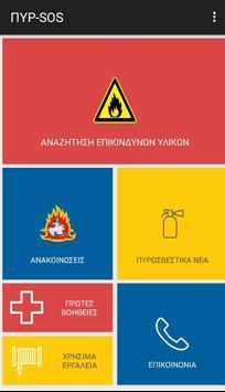 ΠΥΡ-SOS poster