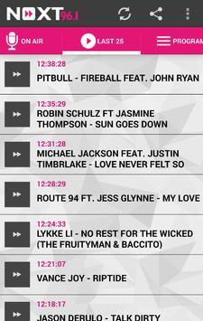NEXT FM 96.1 screenshot 2