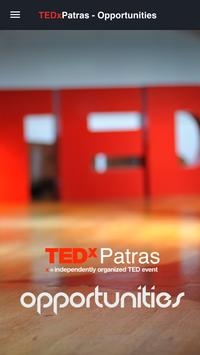 TEDxPatras - Opportunities poster