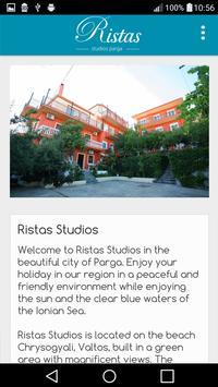 Ristas Studios poster
