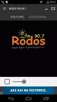 RODOS FM 90.7 poster