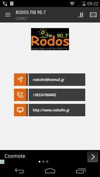 RODOS FM 90.7 screenshot 2