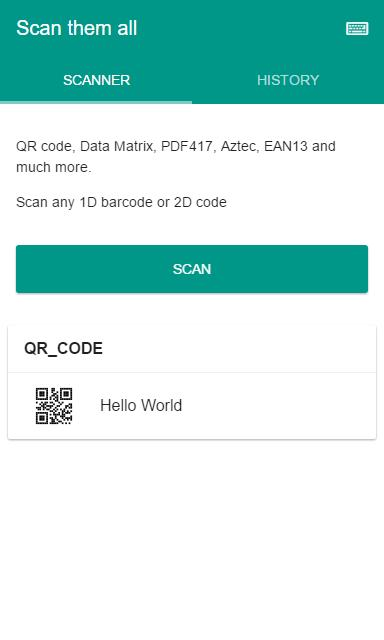 Scan Them All - 2D & Barcodes for Android - APK Download