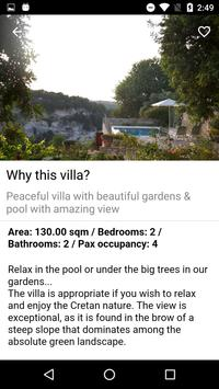 Villa Nikolaos apk screenshot