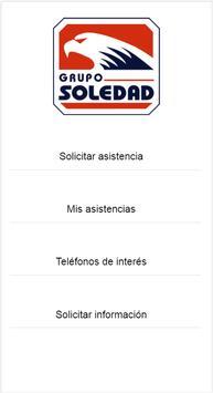 Asistencia Carretera GrupoSoledad poster