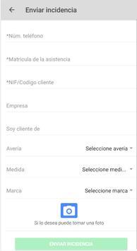 Asistencia Carretera GrupoSoledad apk screenshot