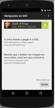 APP do MEI apk screenshot