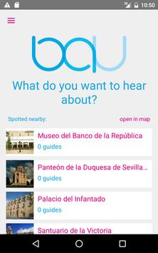 Bauapp Audio Guides apk screenshot