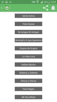 Grupos WP screenshot 4